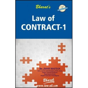 Bharat's Law of Contract - I for Law Students by Dr. Jyoti Rattan